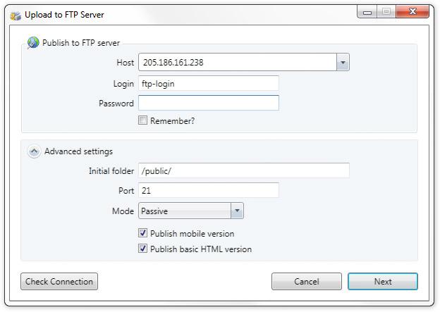 FTP Client - Global Online Publishing - Digital Content